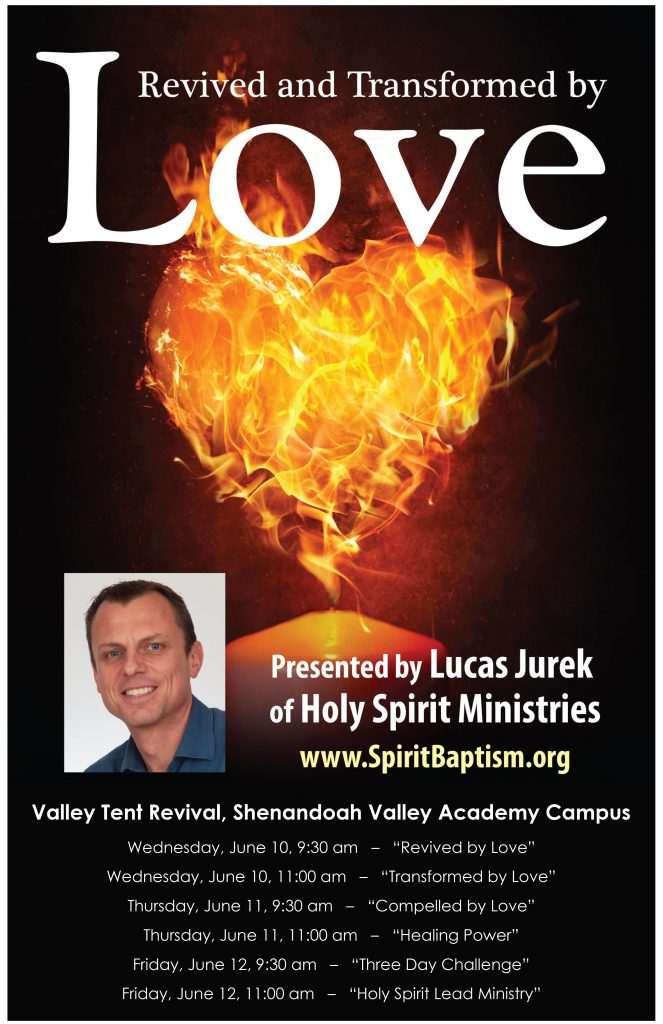 Revived and transformed by love